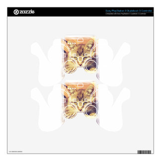 Retro Kitten Photo Skins For PS3 Controllers