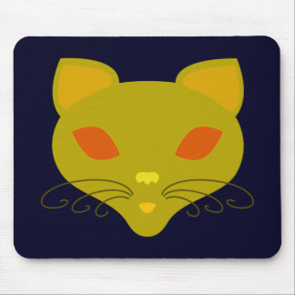 Retro Kitty Mouse Pad