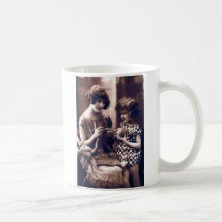 Retro Knit Coffee Mug