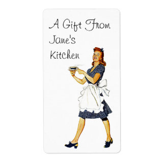 Retro Labels Label Gifts from Kitchen Gifting gift