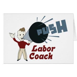 Retro Labor Coach Card