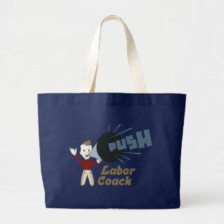 Retro Labor Coach Large Tote Bag