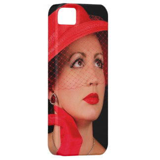 Retro Lady in Red Iphone5 iPhone 5 Covers