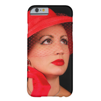 Retro Lady in Red iPhone 6 case