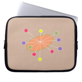 Retro Laptop Sleeve Fun Fair design