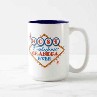 Retro Las Vegas Fabulous Grandpa Coffee Mugs