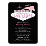 Retro Las Vegas Sign Bachelorette Party Invitation
