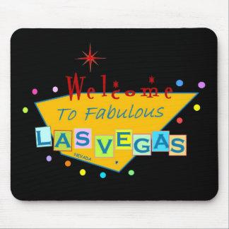 Retro Las Vegas Sign Mousepad