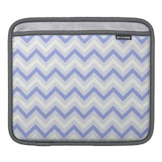 Retro Lavender Purple Chevron Stripes Sleeve For iPads