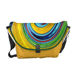 Retro Layers Messenger Bags