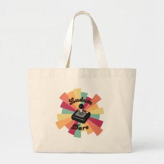 Retro LD Tote Bags
