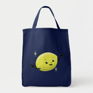 Retro Lemon Guy Tote Bag