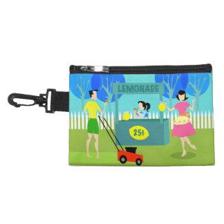 Retro Lemonade Stand Clip-On Accessory Bag