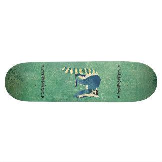 Retro Lemur Skateboard