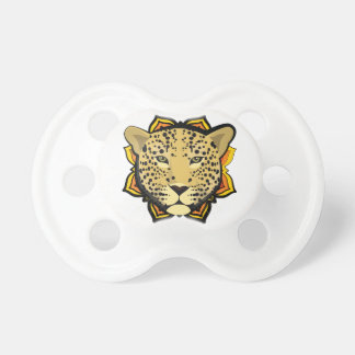 Retro Leopard Pacifier