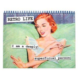 Retro Life Calendar
