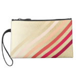 Retro Lightly Faux Gold Waves of Neutral to Red Wristlets