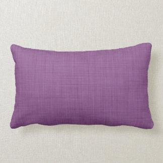 Retro Linen Texture Pattern Throw Pillows