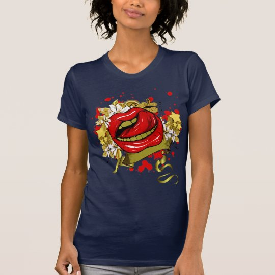 Retro Lips T-Shirt