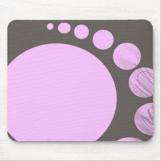 retro little bubbles mousepad