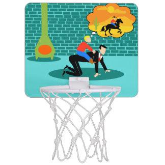 Retro Little Cowboy Mini Basketball Hoop