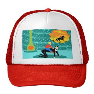 Retro Little Cowboy Trucker Hat