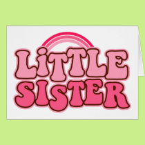 Retro Little SIster Card