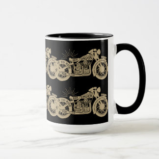 Retro Live To Ride Vintage Motorcycles with Text Mug