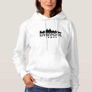 Retro Liverpool Skyline Hoodie