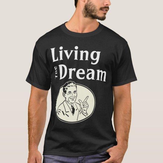Retro Living the Dream Dark T-Shirt