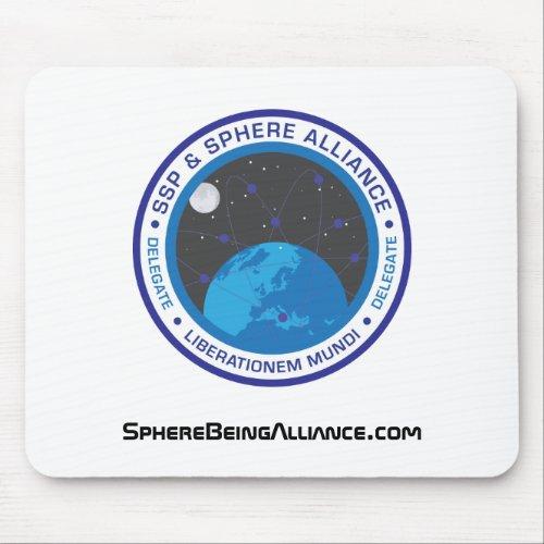 Retro Logo Mousepad