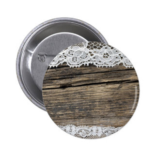retro look with old lace pinback button