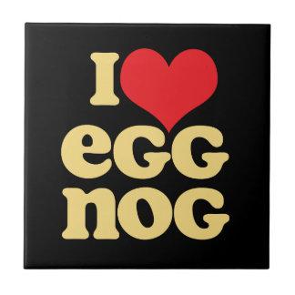 Retro Love Eggnog Decorative Tile Home Decor