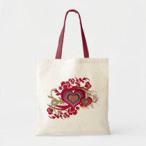 Retro Love Gifts Tote Bag