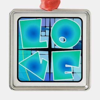 Retro Love Ornament