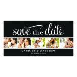 RETRO LOVE   SAVE THE DATE ANNOUNCEMENT PHOTO CARD