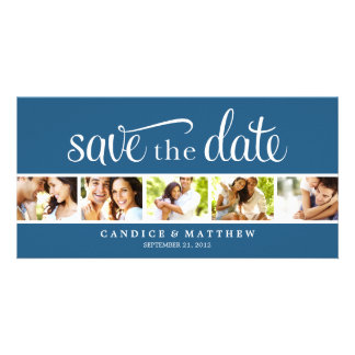RETRO LOVE | SAVE THE DATE ANNOUNCEMENT PHOTO CARD