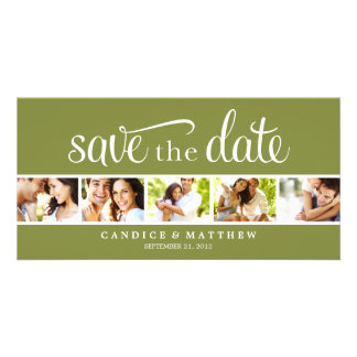 RETRO LOVE | SAVE THE DATE ANNOUNCEMENT PHOTO CARD