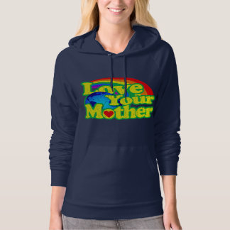 Retro Love Your Mother Earth Hoodie