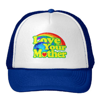 Retro Love Your Mother Earth Trucker Hat