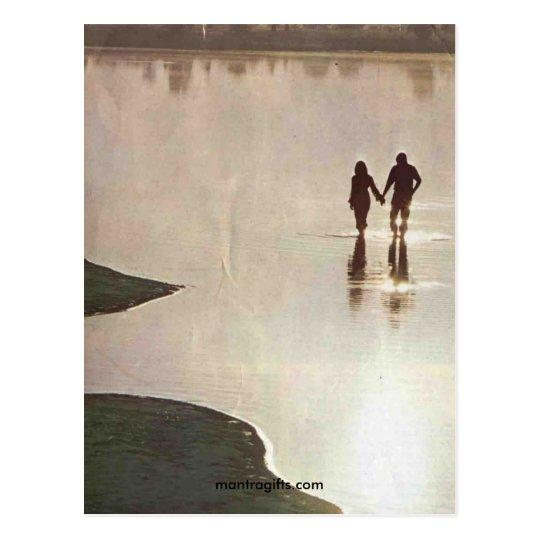 Retro Lovers Seventies Postcard
