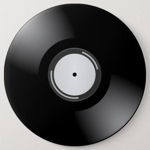 RETRO LP RECORD Round Button