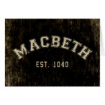 Retro Macbeth Card
