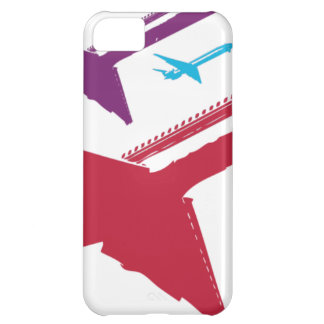 Retro Mad Dog Airplane Jet Flight Design Cover For iPhone 5C