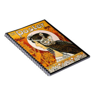 Retro Magazine Cover 1898 Notebook