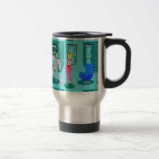 Retro Magical Genie Travel Mug