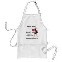 Retro Maid Cleaning Service Apron