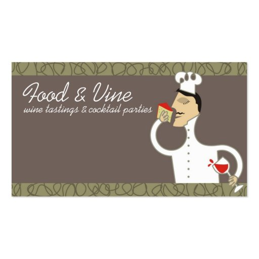 422 food and wine business cards and food and wine for Wine business cards