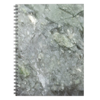 Retro Marble Stone Texture Pattern Spiral Note Book