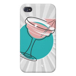 retro margarita design iPhone 4 case